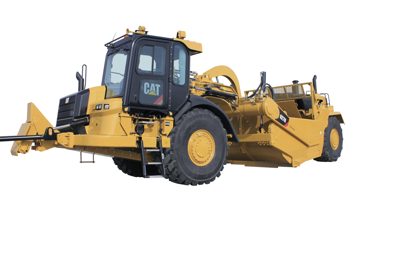 new cat h series wheel tractor scrapers