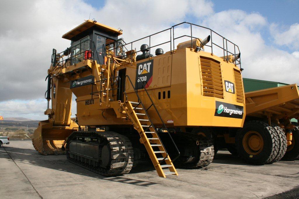 giant cat excavator - photo #1