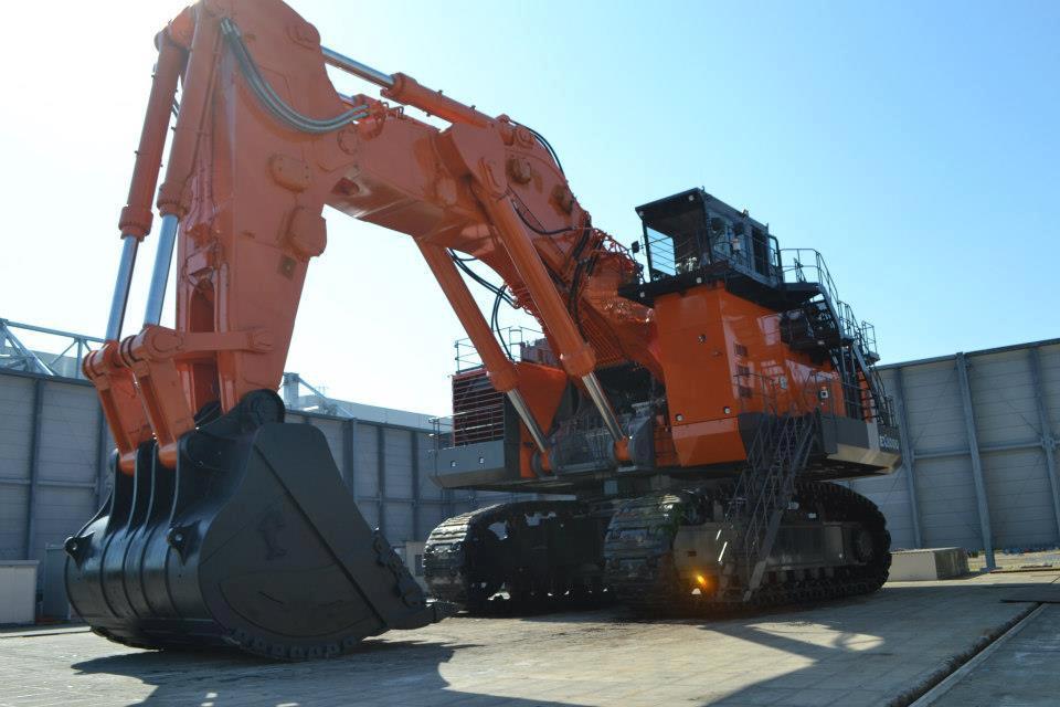Massive Hitachi Ex8000 6 Heads For Nammuldi Mine