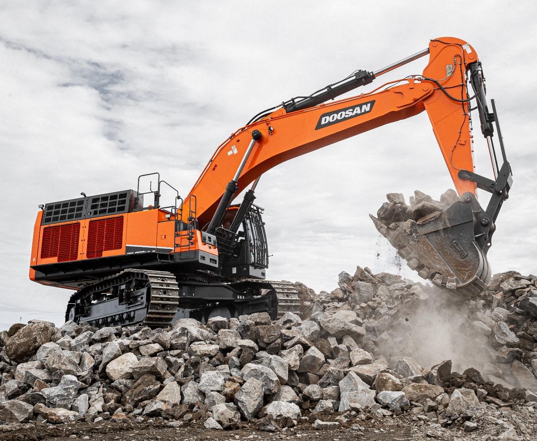 Doosan S Biggest Excavator To Date