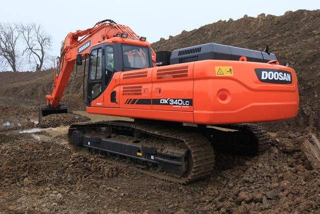 Doosan plans big splash for intermat for Lca construction