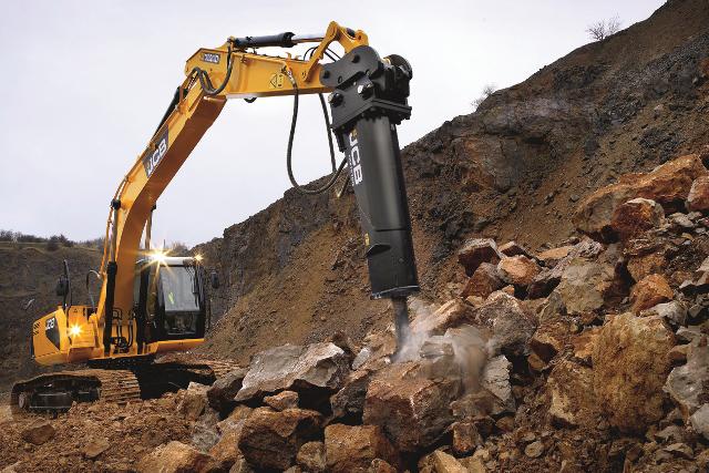 Jcb renews hydraulic breakers