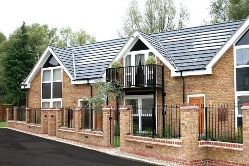 Redland Solar Pv Tile Powers New Homes