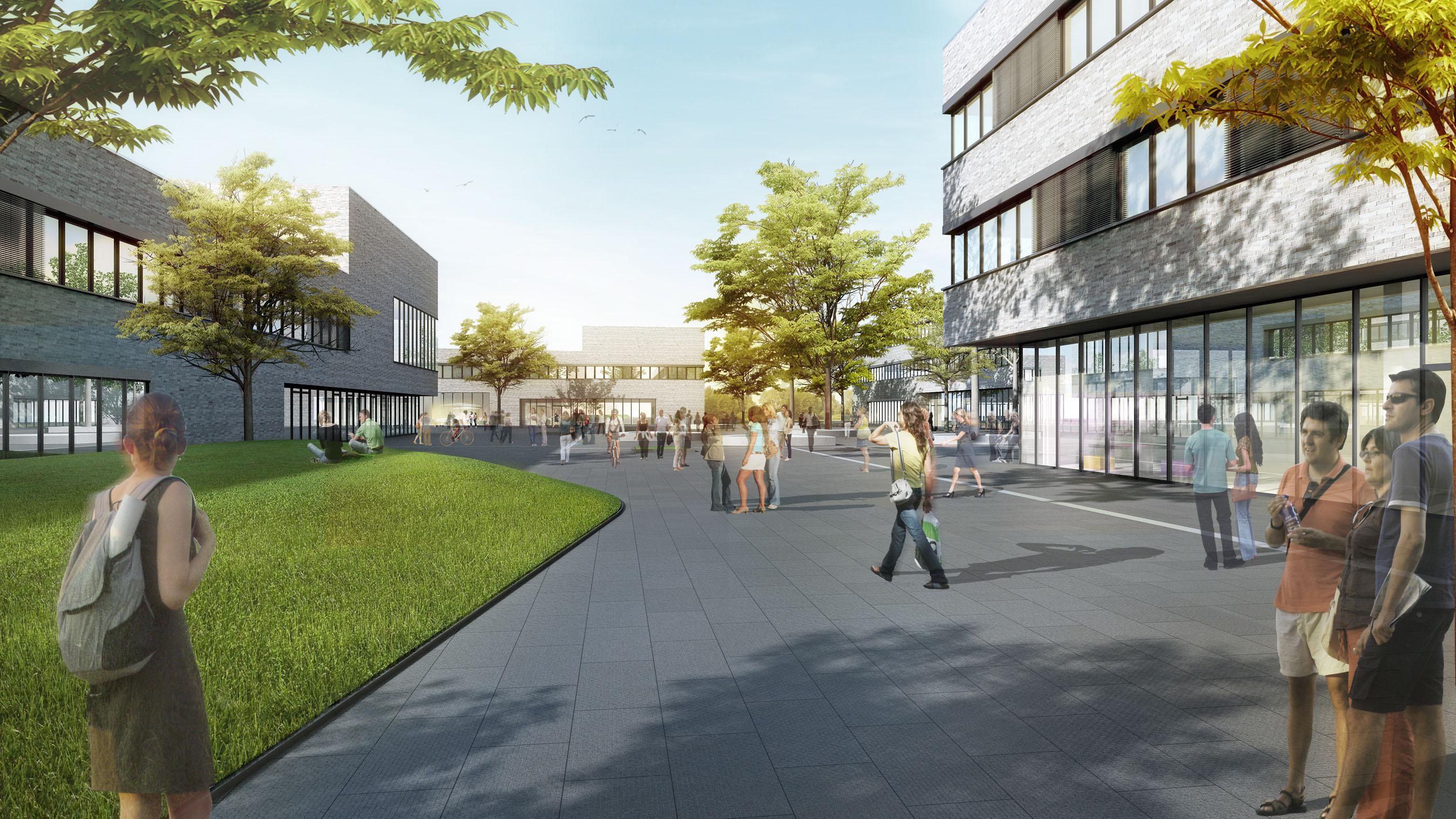 strabag to build 100m university campus. Black Bedroom Furniture Sets. Home Design Ideas