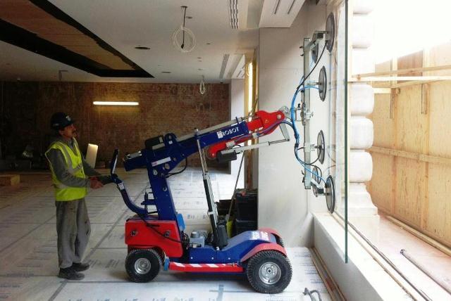 High Capacity Glazing Robots