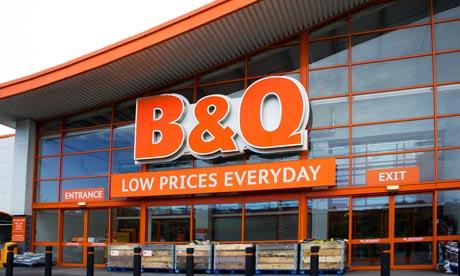 B Amp Q Sets Up Tradesman Brokerage