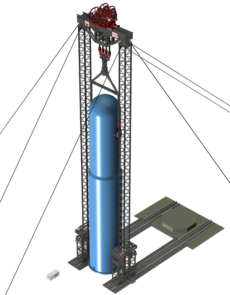 Dorman Long gets order for 5000-tonne jacking system
