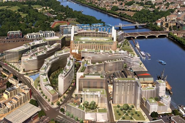 Pms Cut Turf To Start Battersea Power Station Development