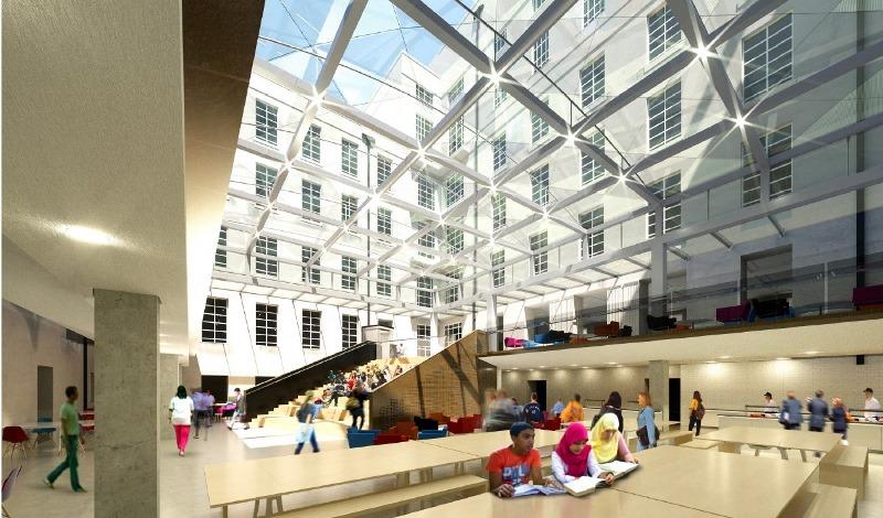 Contractor sought to glaze senate house courtyard - University of london accommodation office ...