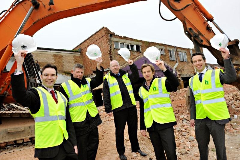 Pmc Starts Southampton Social Housing Project