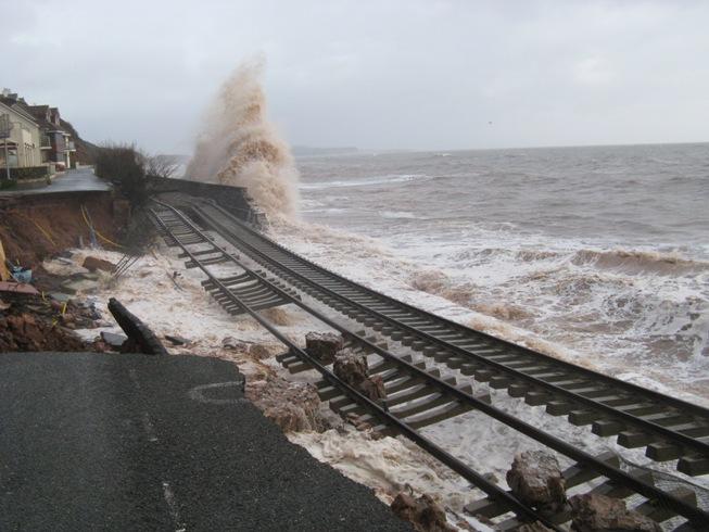 Dawlish Rail Repair Contractors Are Ahead Of Target