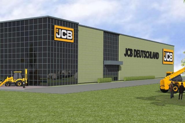 jcb  build  german hq