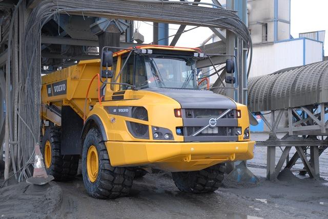 New hauler for Falkirk quarry