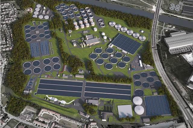 Laing O Rourke Jv Lands 163 170m Davyhulme Sewage Works Upgrade