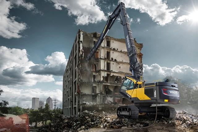 Volvo woos demolition contractors with high reach variants