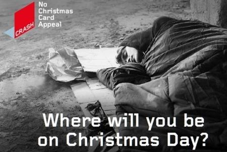 crash appeals for no christmas cards