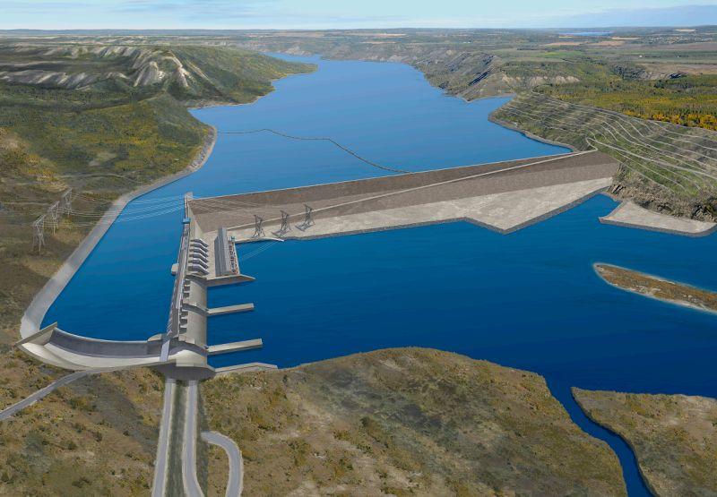 Acciona lands main civils work on $8bn Canadian hydro scheme