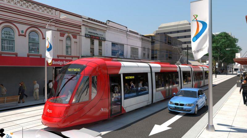 Parramatta Light Rail project