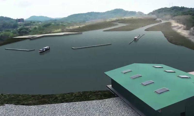 Panama canal opening date