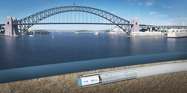 Sydney Harbour tunnel