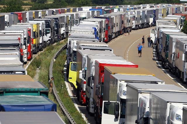 Government scraps plans for £250m lorry park
