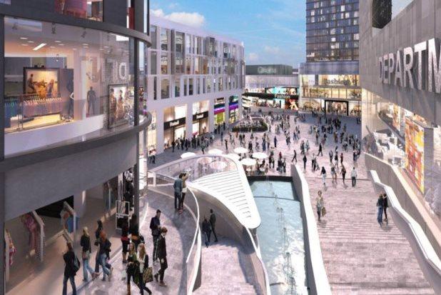 Developer Selected For 163 480m Sheffield Retail Quarter
