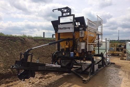Volumetric Mixer For Keltbray Rail