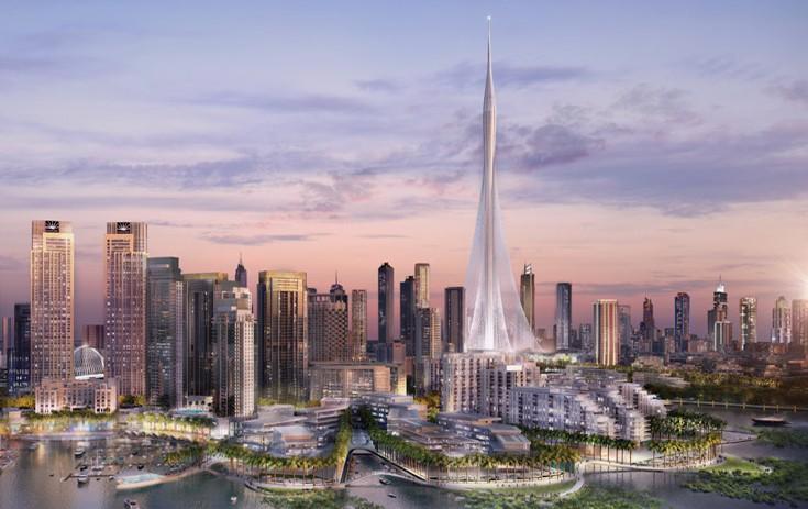 Dubai Creek Harbour Tower architect's view
