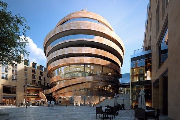 Demolition Starts On Edinburgh Shopping Mall
