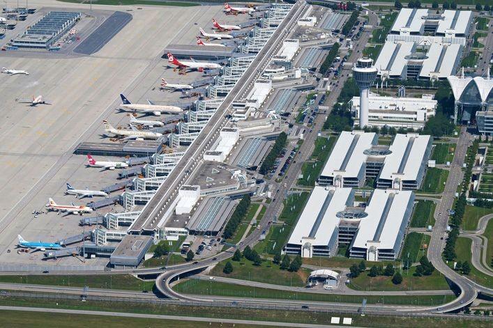 Munich airport expansion (source: The Construction Index)