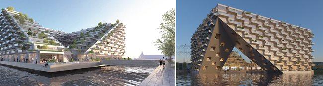 Sluishuis in IJburg Steigereiland (source: The Construction Index)