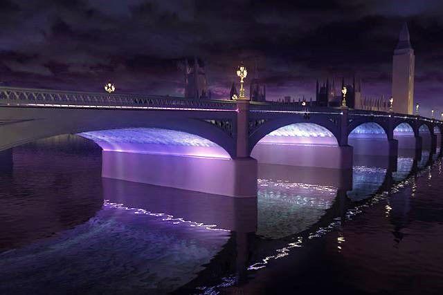 Winner chosen for lighting London bridges