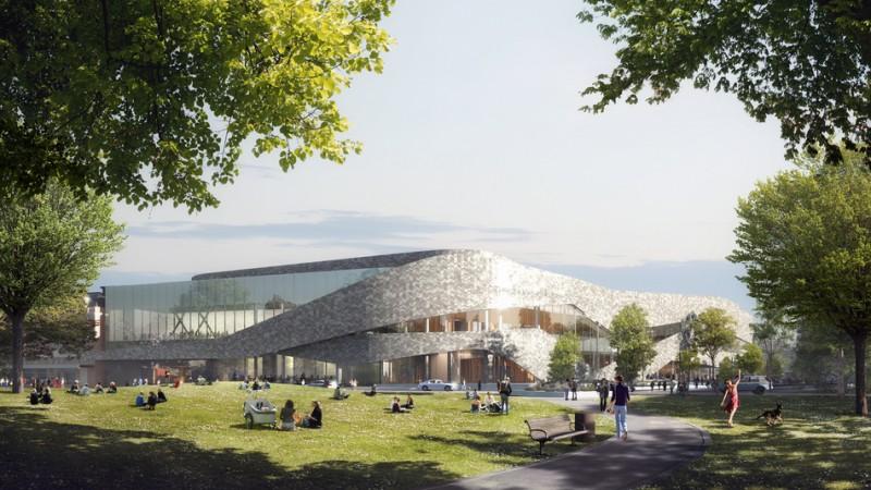 Design unveiled for christchurch convention centre for Landscape design courses christchurch nz