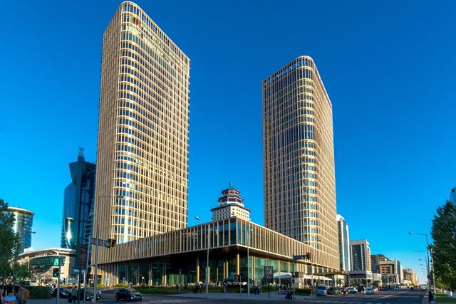 Turner Team Completes Kazakhstan Towers