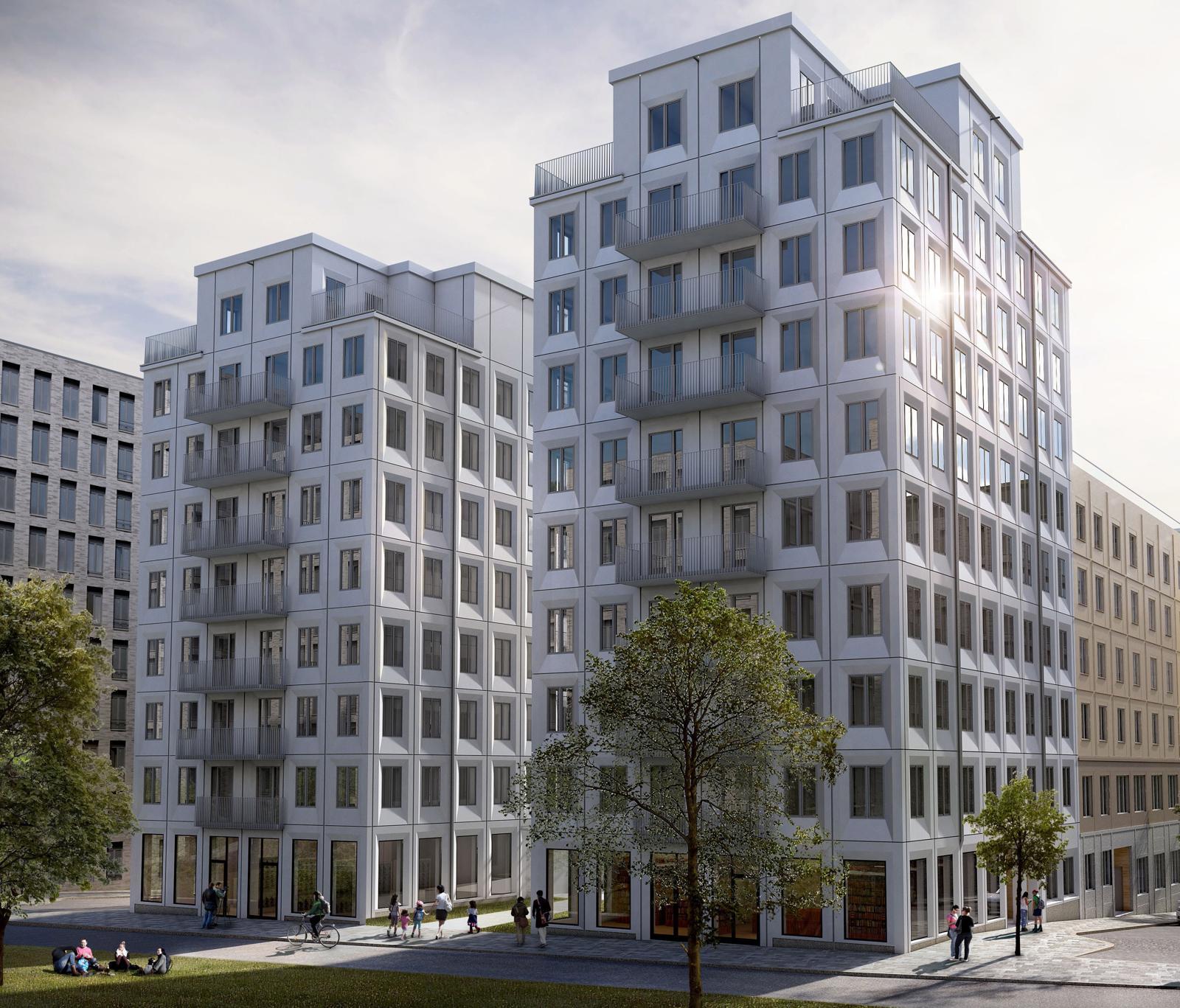Skanska Signs For Stockholm Housing Complex