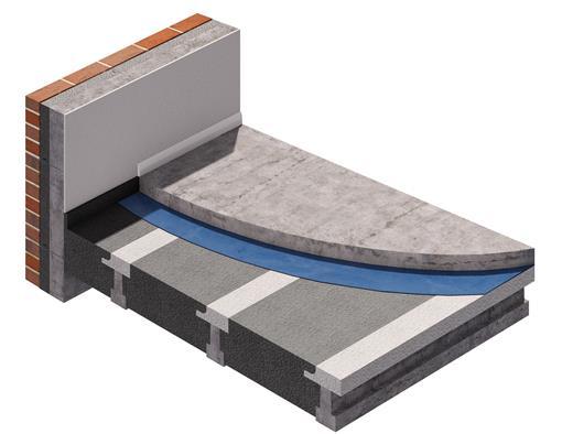 Solution to micro fibre concrete topping ban for Concrete block floor