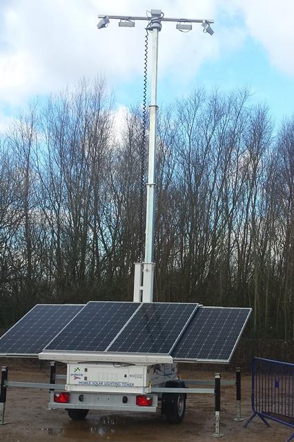 Solar Lighting Towers Gain Momentum
