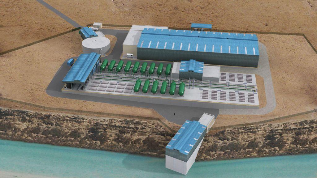 Eiffage team wins Djibouti desalination project