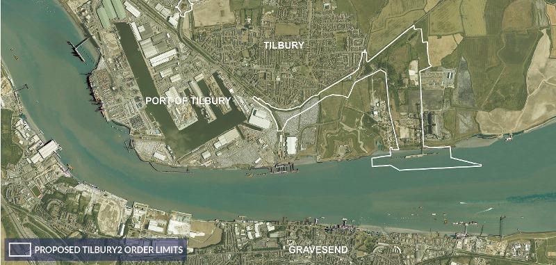 Tilbury Docks Tenders 163 90m Expansion Works
