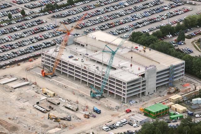 BAM wins £60m airport car park works