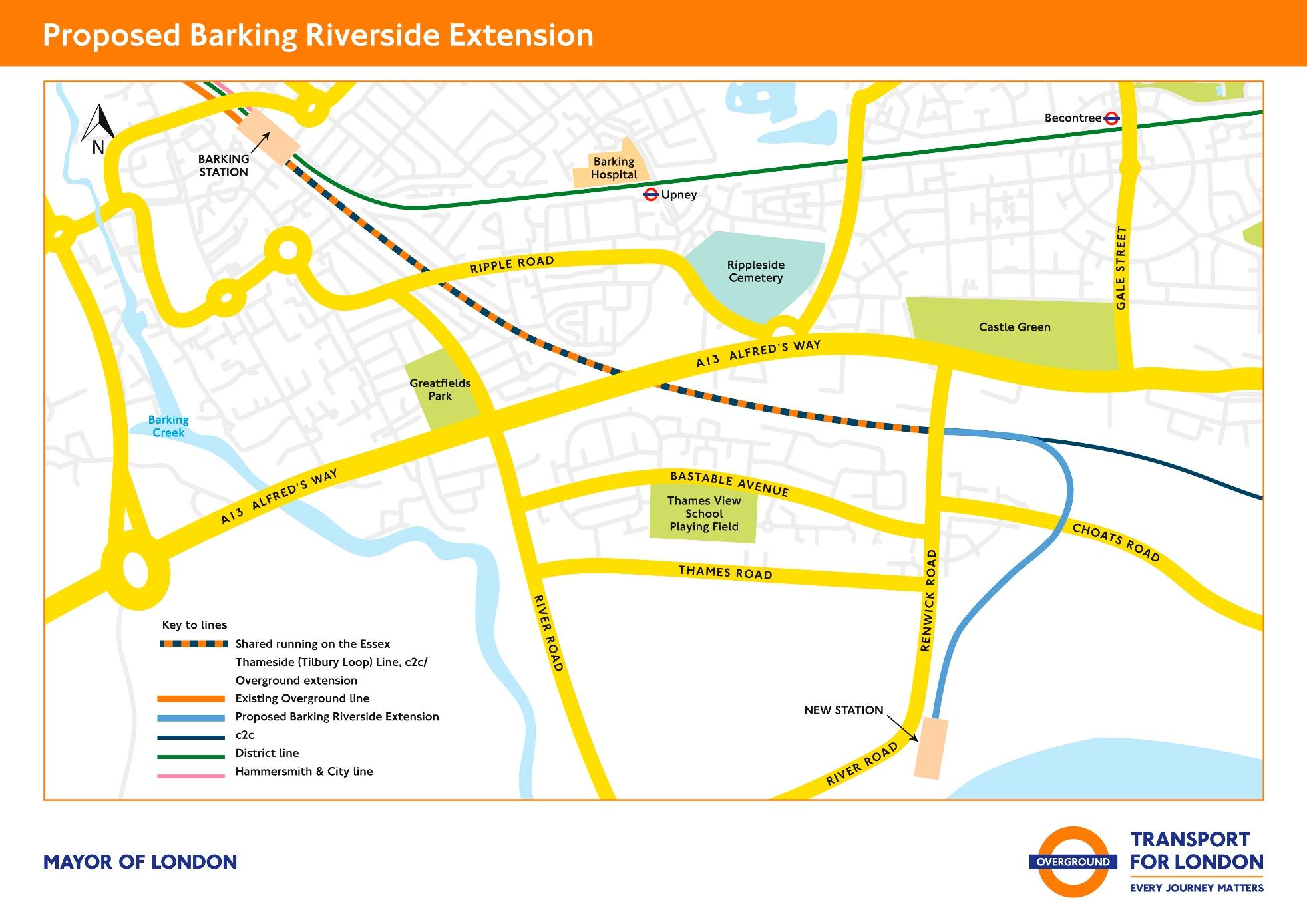 196m Barking Riverside rail contract awarded
