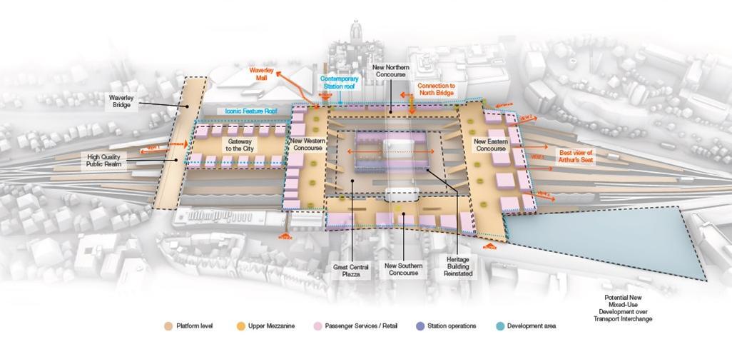 Consultation Begins On Expansion Of Edinburgh S Waverley Station