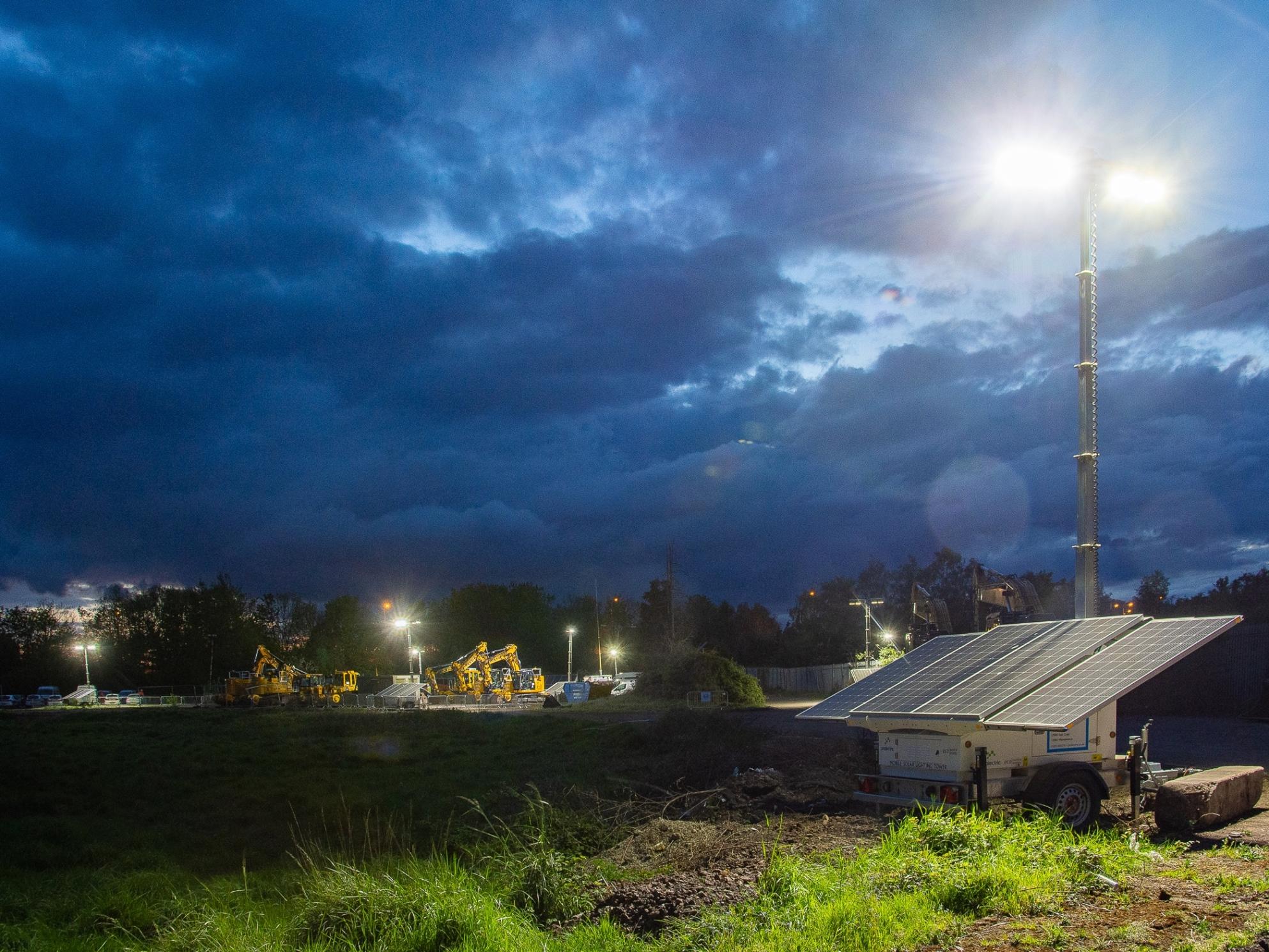 Colas achieves near emissions-free construction site