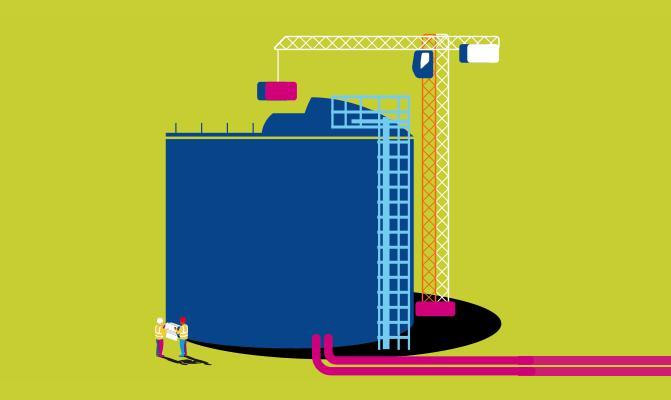 Vinci to build $400m Canadian LNG tank