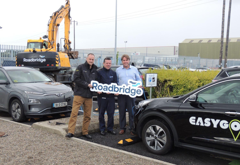Roadbridge's Irish sites get electric vehicle charging