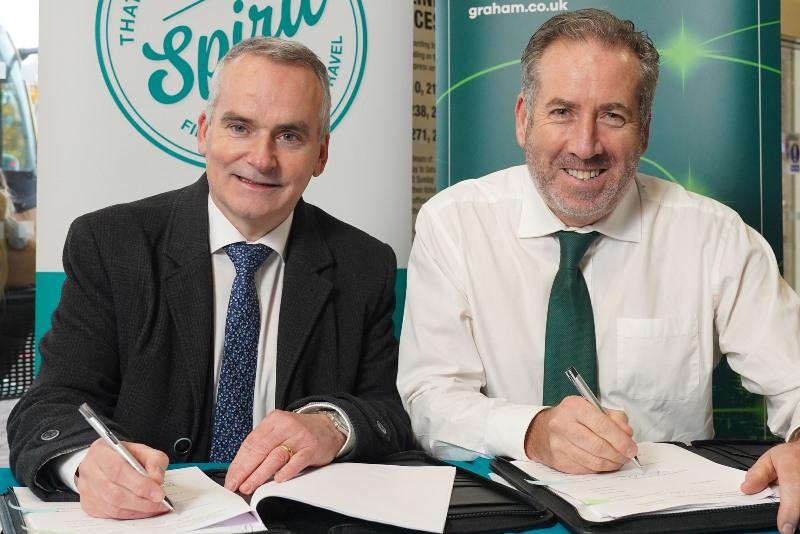 Graham signed up for Belfast transport hub