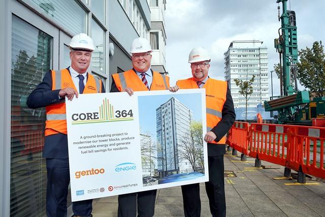 Sunderland tower blocks get ground source heat - Construction Index