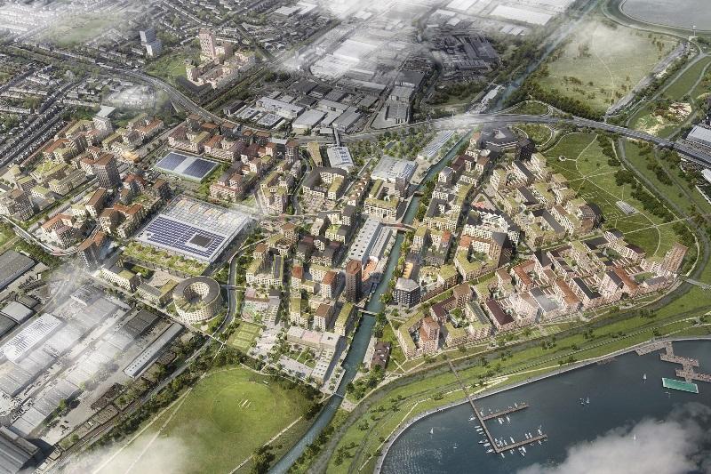 Three share £90m Meridian Waters civls work