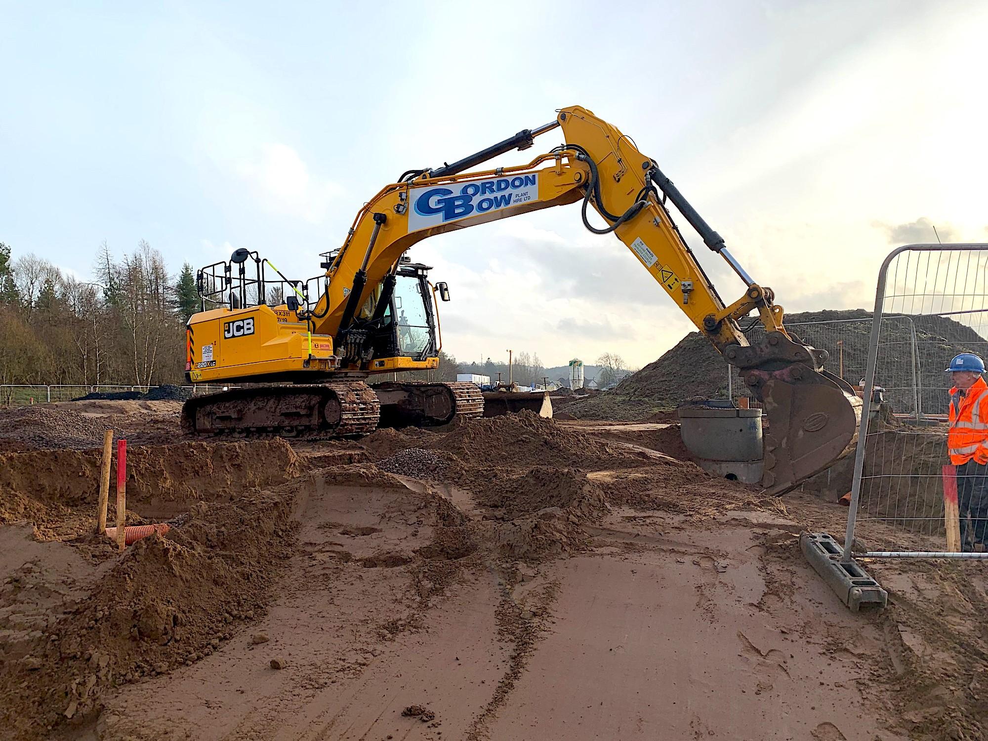 Scottish plant hirer spends £1m on JCB machines
