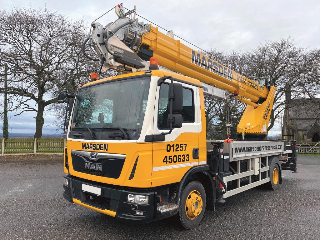 Aluminium crane joins Marsden fleet
